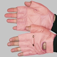 Lady Fingerless gloves Pink