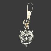 Rits hanger Devil