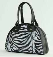 Bowlingbag Zebra white, small