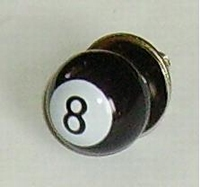 8-Ball nuts and bolts black