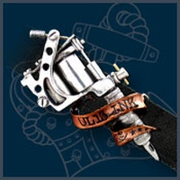 UL13 Alchemy Tattoo Gun buckle met riem