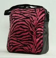 Fluffy bag Zebra Pink