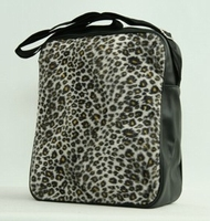 Fluffy bag Leopard
