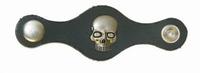 Vest extender leather Skull