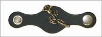 Vest extender leather Rose