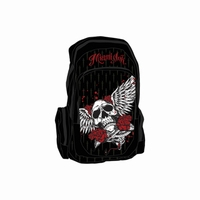 Miami Ink backpack Winged Skull