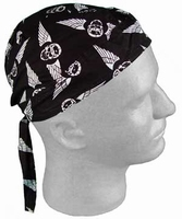 Doo-rag Winged Skull