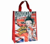 Betty Boop London shopperbag