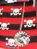 Liquor Brand scarf red