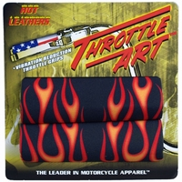 Handle bar cover Flame