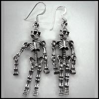 Oorbel Skeleton