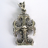 Pendant Skull Cross