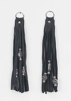 Key chain fringes & beads