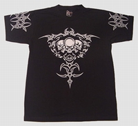 T-shirt Tribal Skull