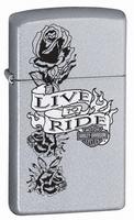 Zippo Harley Davidson Live to Ride