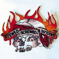 Patch Stewed, Screwed & Tattooed