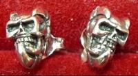 Earring Evil Skull