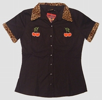 Shirt Tiger-cherry