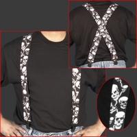 Suspenders Skull
