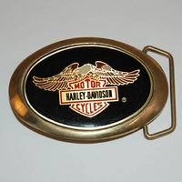 Buckle Harley Davidson Moto Cycle Eagle