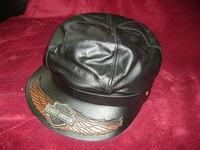 Harley Davidson  cap leather, no chain