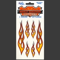 Flames decals