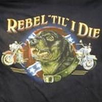 T-shirt Rebel 'til I die