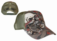 Miami Ink Trucker Skull with Wings