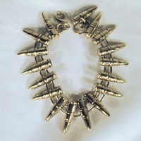 Arm or ancle bracelet Bullet