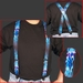 Suspenders Flame Blue