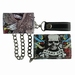 Miami Ink Full Printed Chain Wallet Skull