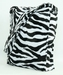 Fluffy Zebra bag
