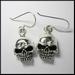 Earring pendant Skull