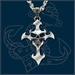UL13 Alchemy Devil's Cross halsketting